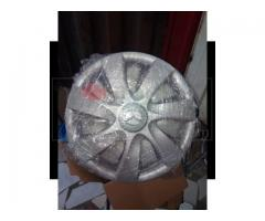 Plastic wheel cap
